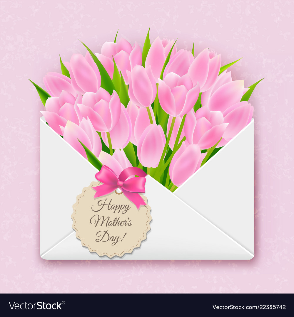 Mothers day retro card