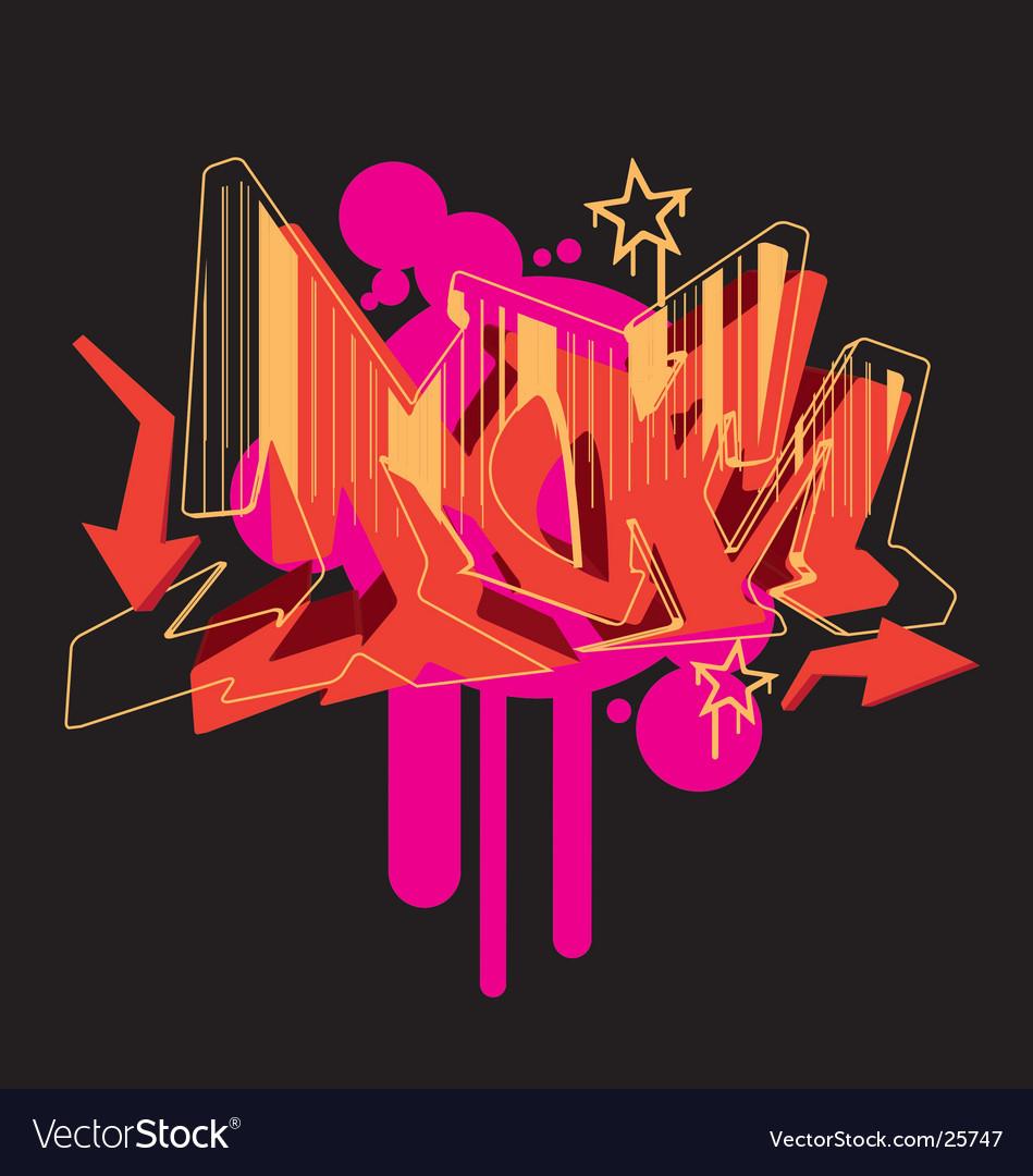 Graffiti graphic