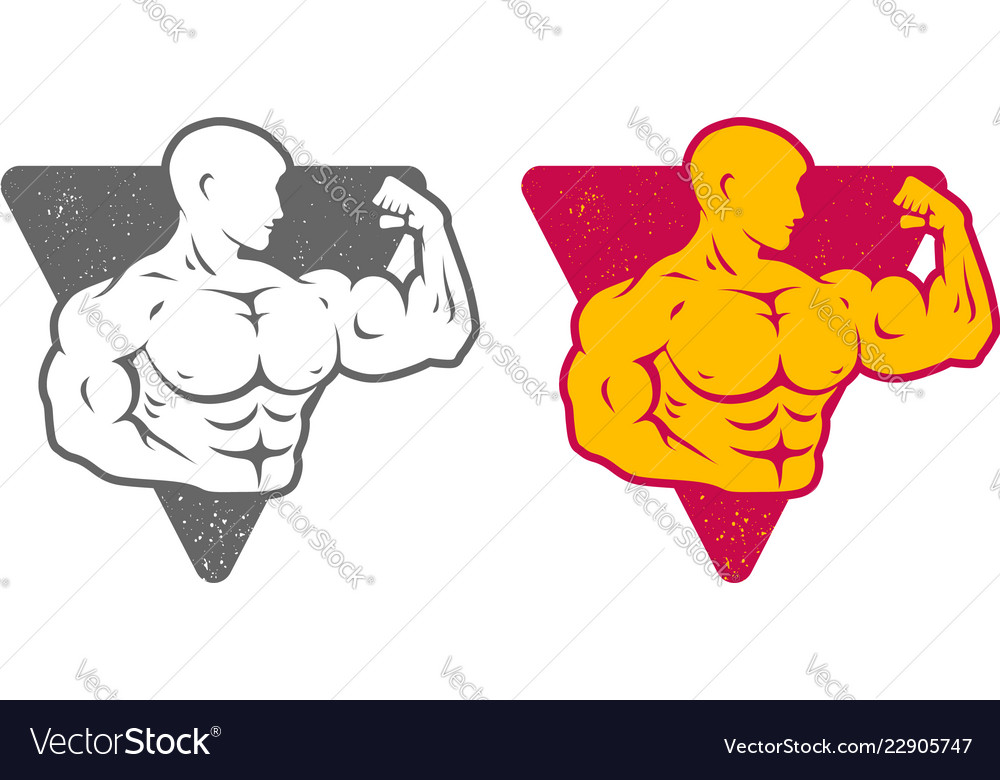 Set logos for bodybuilding