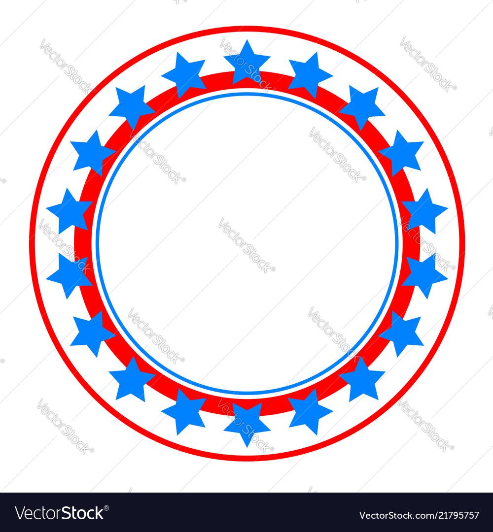 American abstract flag patriotic symbols logo