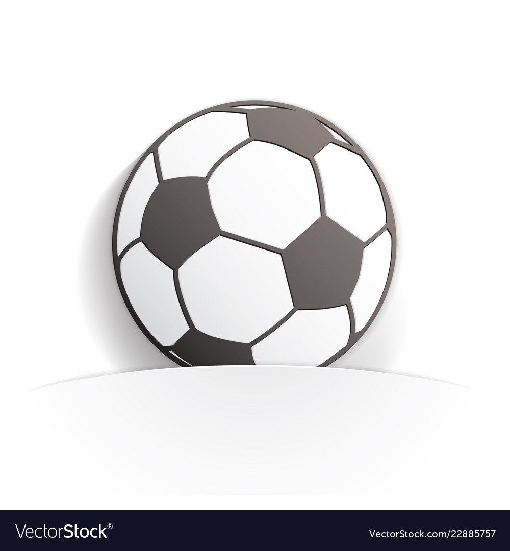 Football paper icon