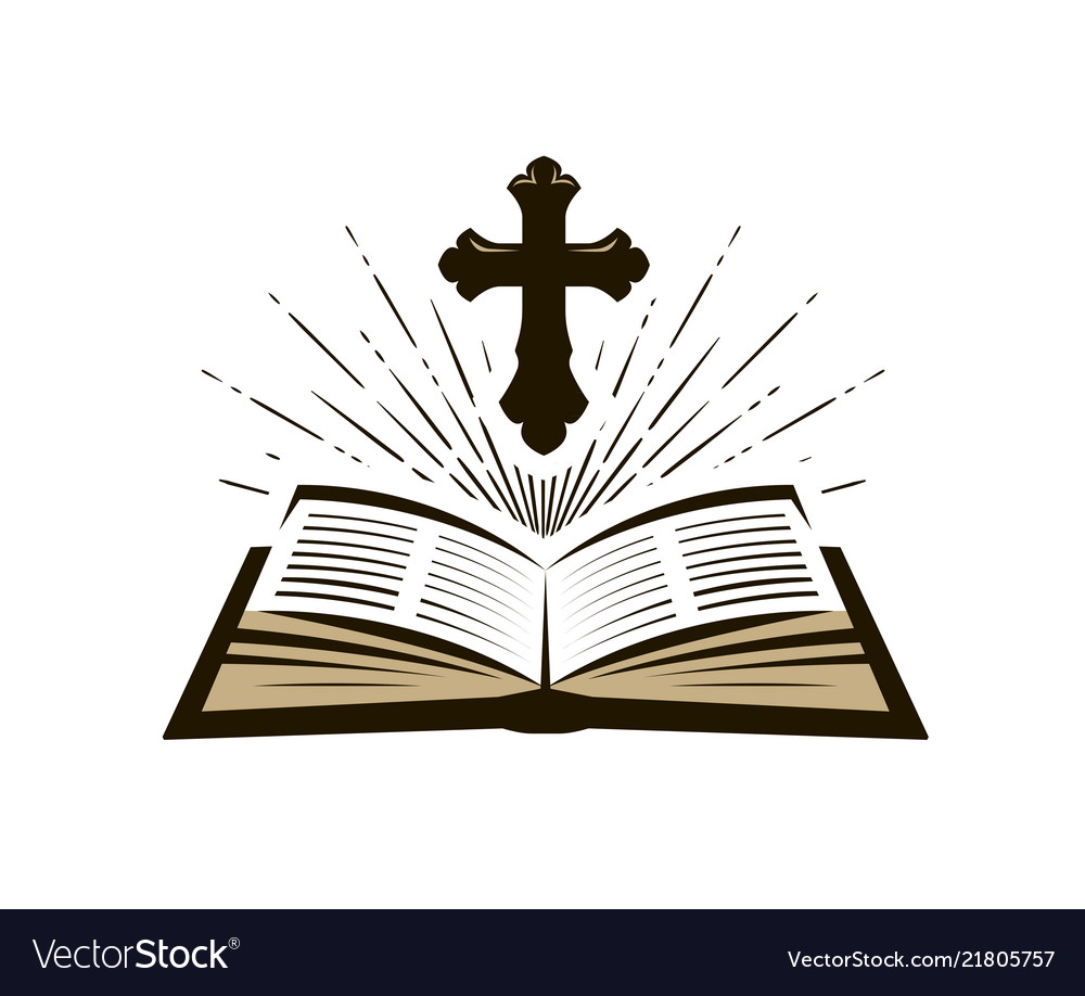 Holy bible symbol worship church psalm icon