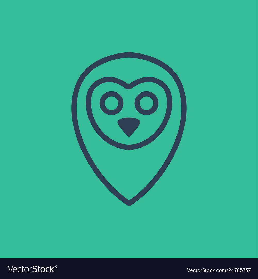 Owl logo icon design