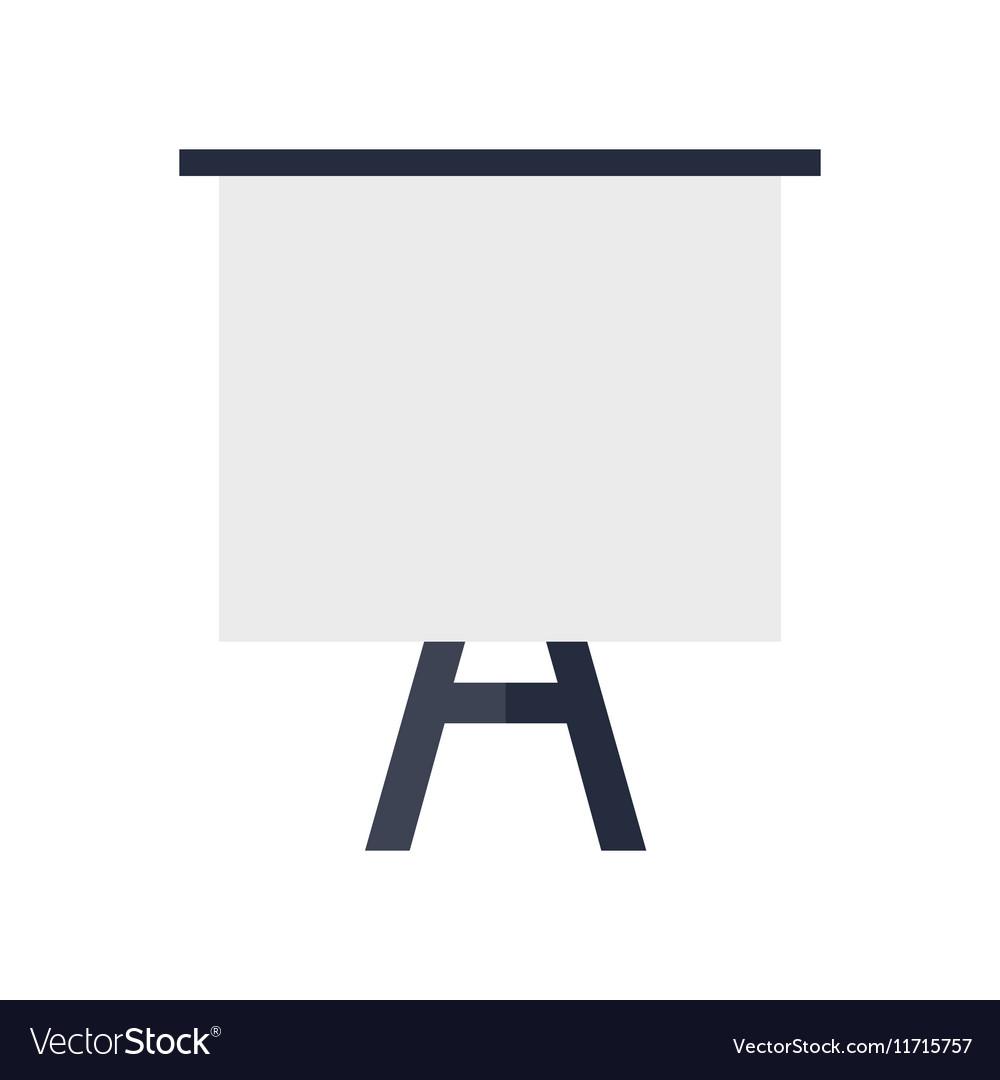 Tripod Whiteboard with Blank Screen