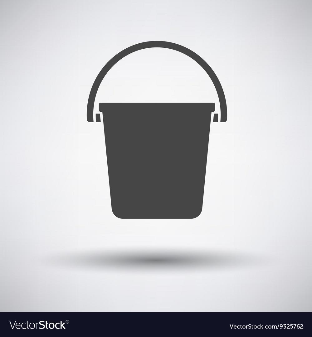 Icon of bucket