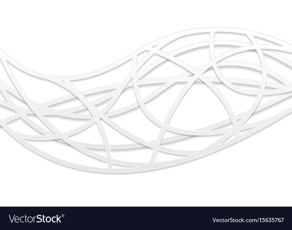 Abstract White Corporate Wavy Pattern Royalty Free Vector Delectable Wavy Pattern