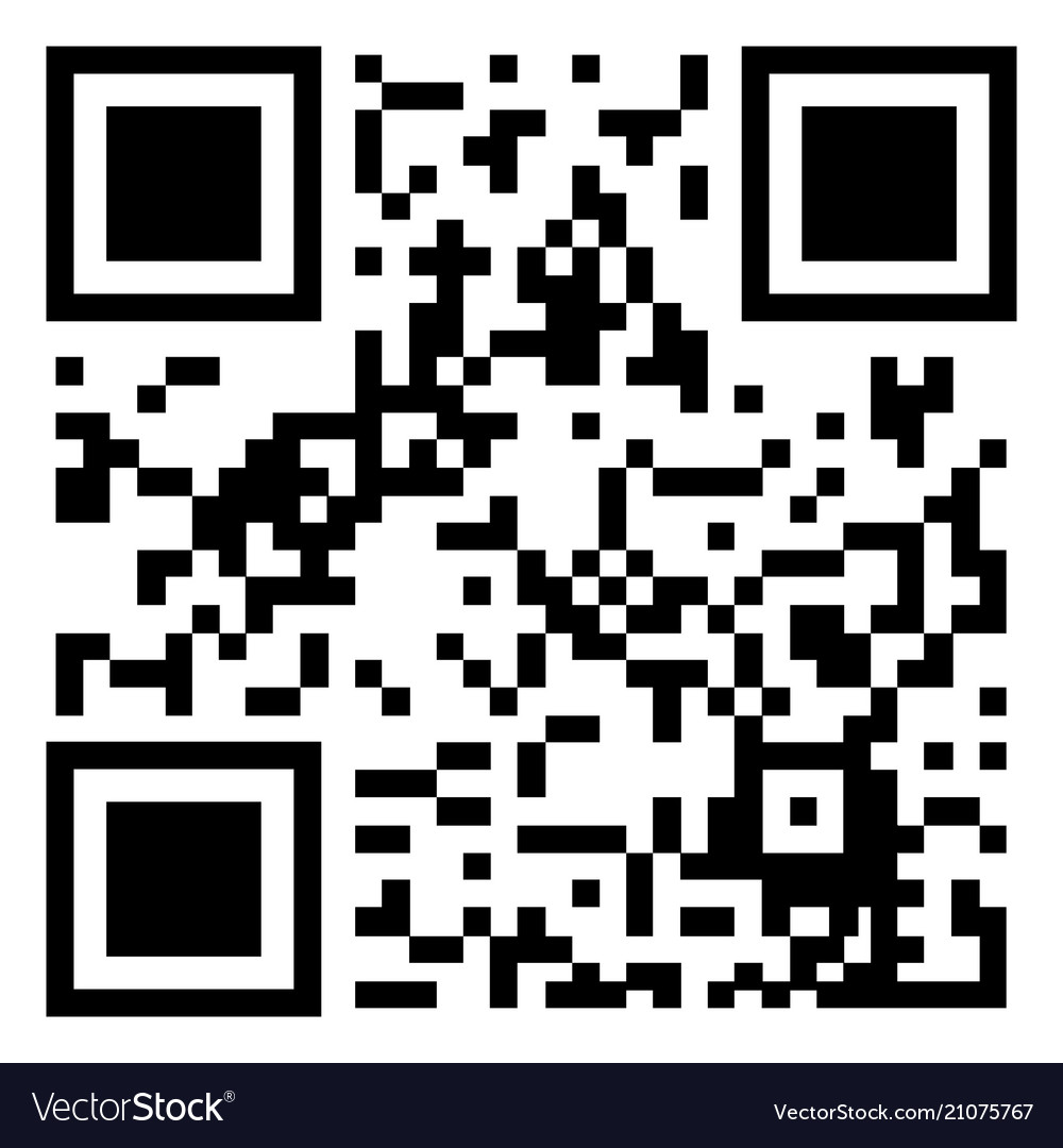 Gray qr code icon isolated on background modern f