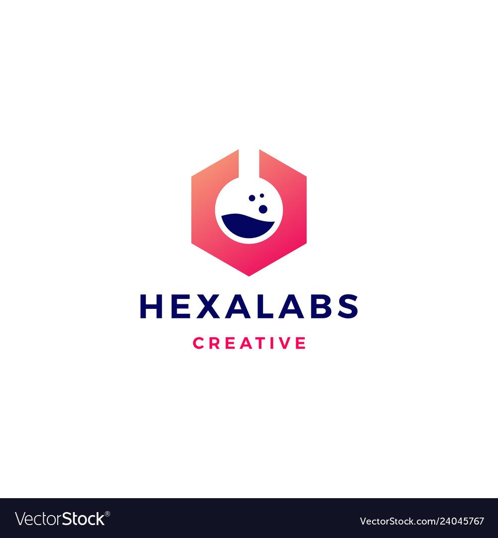 Hexagon labs logo icon