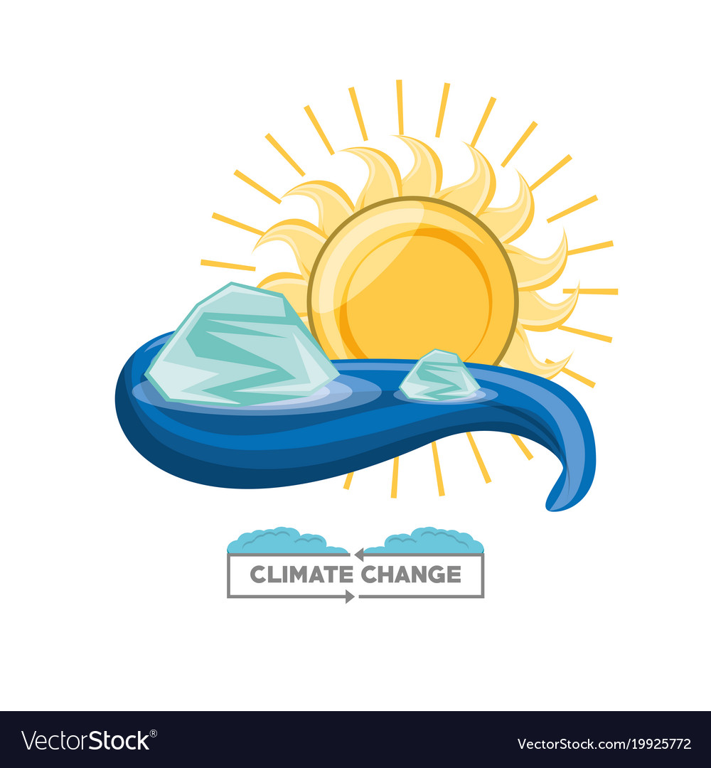 Climate Change Design Royalty Free Vector Image