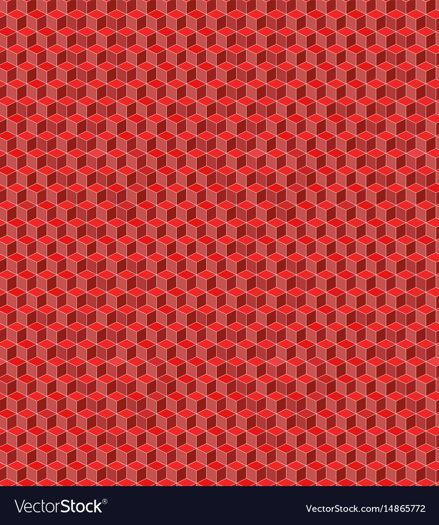 Seamless cube pattern for background