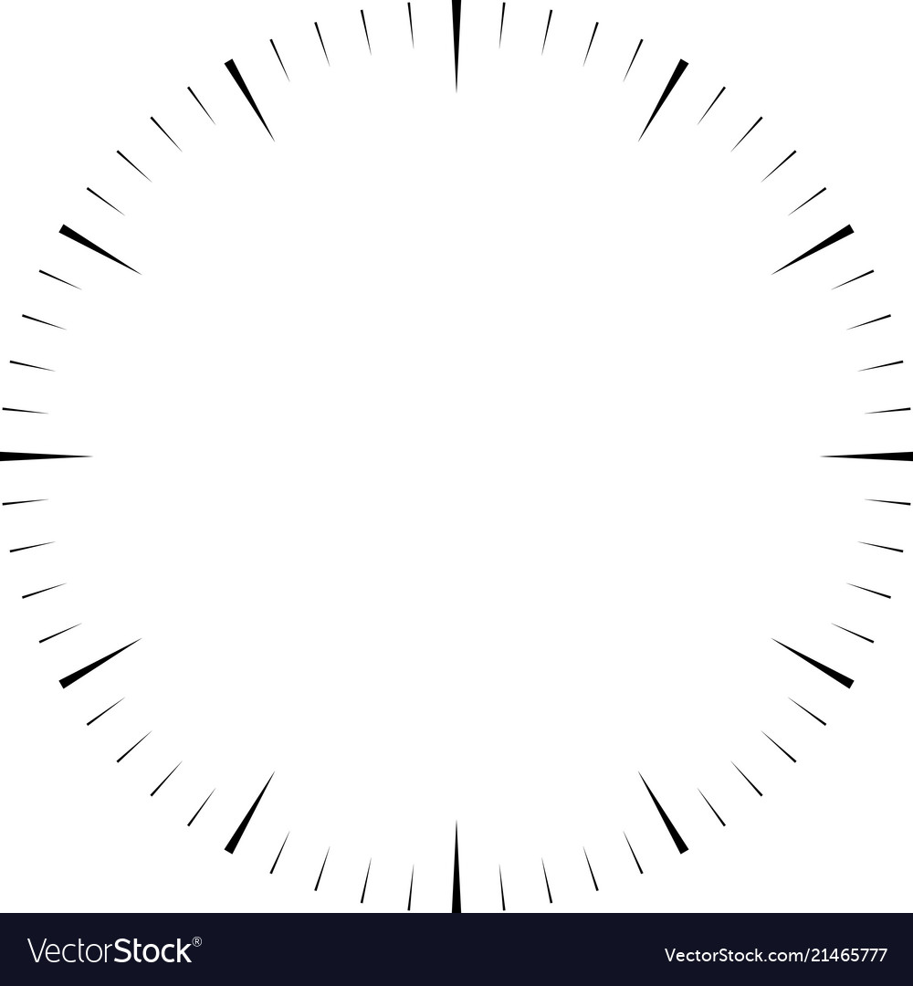 Clock face blank hour dial wedges mark minutes
