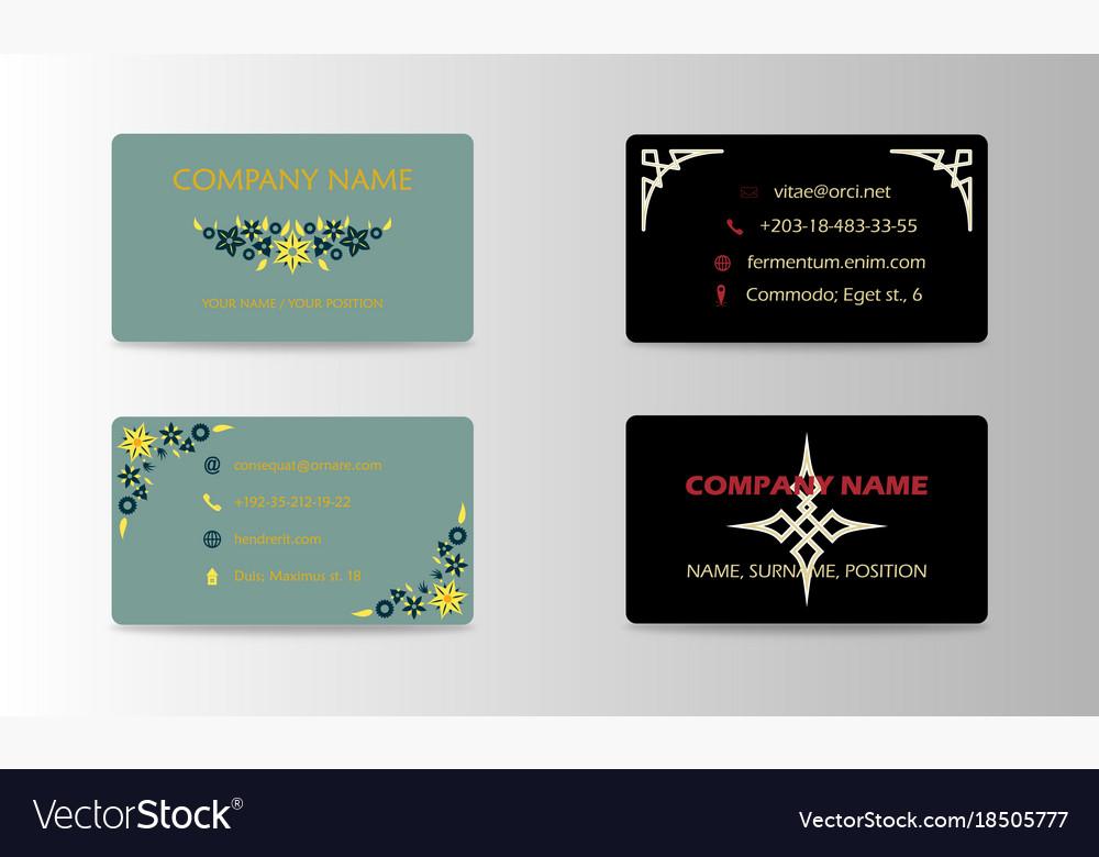 Corporate professional designer business or