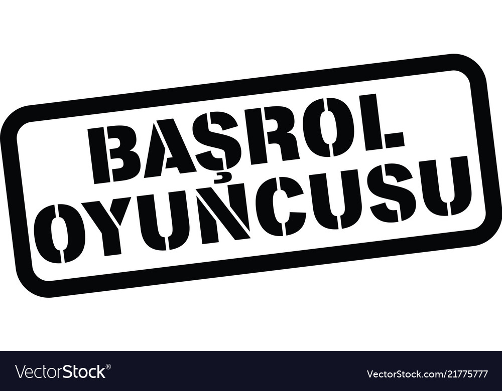 Headliner Stamp In Turkish Royalty Free Vector Image