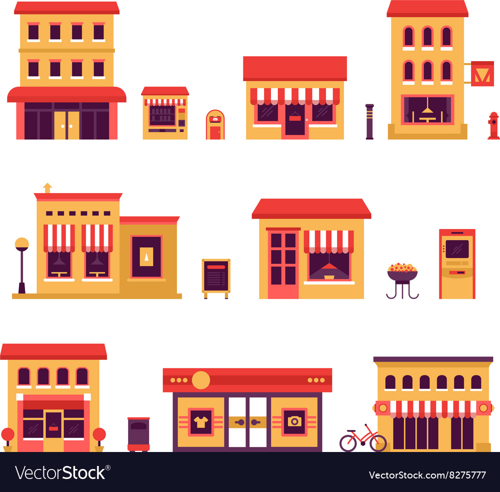 Local Business Buildings