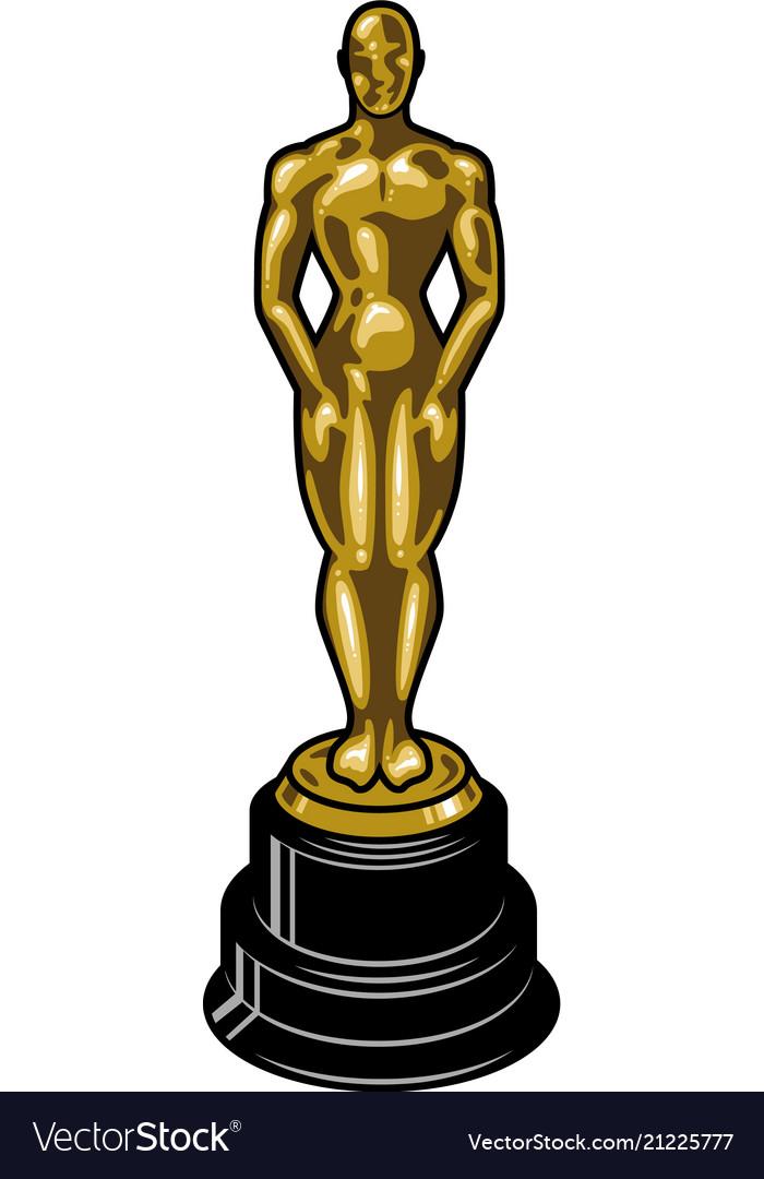 Vintage cinematic academy award template
