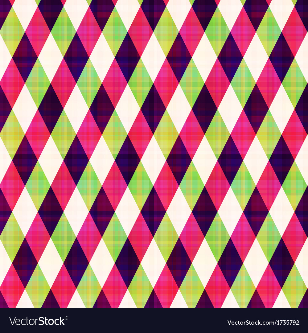Seamless abstract geometric checkered pattern