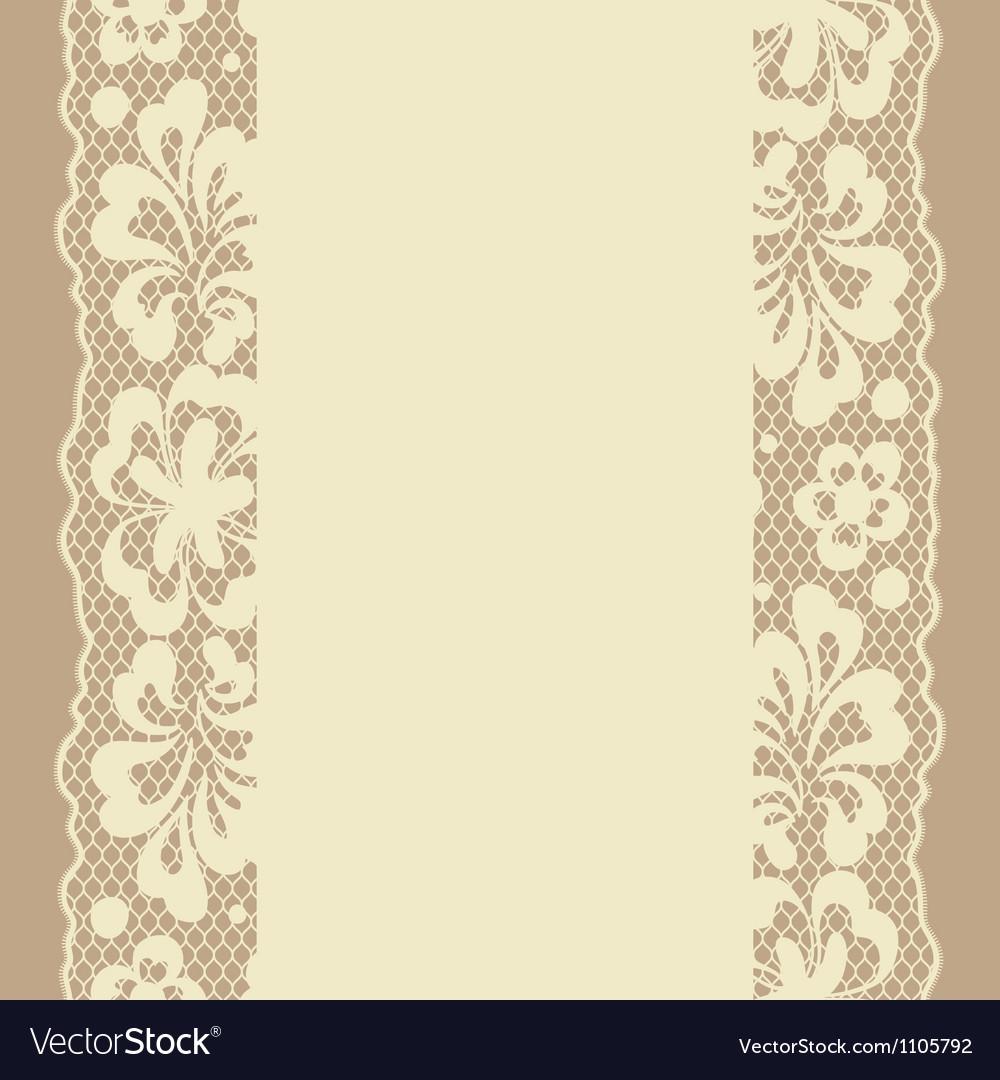 Seamless lace pattern flower vintage background
