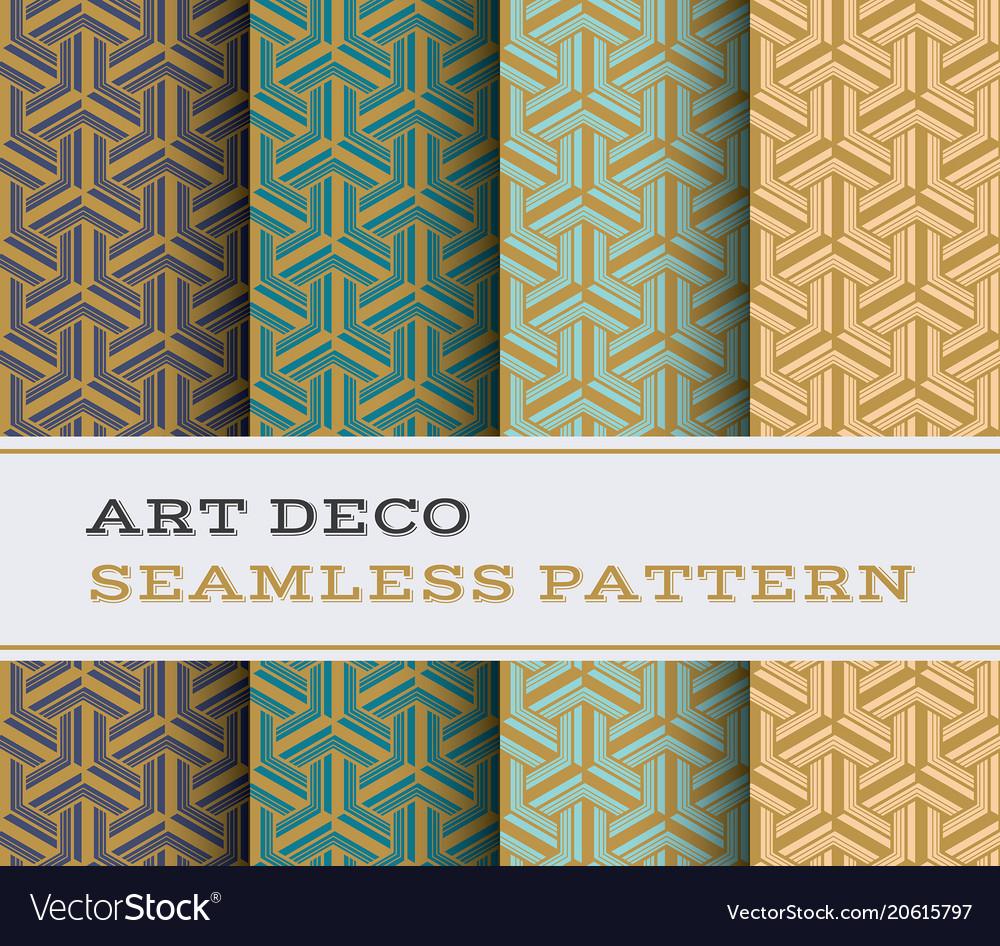Art deco seamless pattern 24