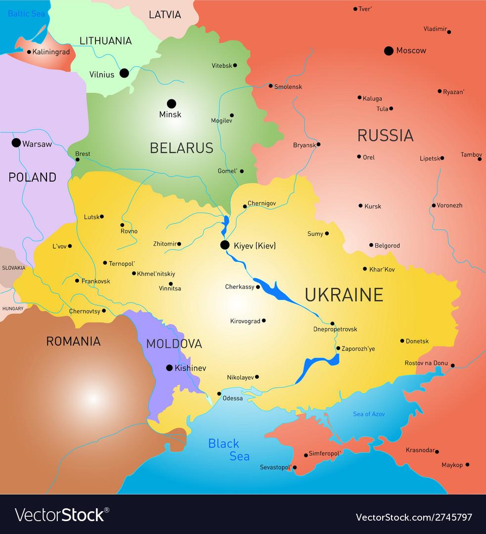 Belarus and Ukraine country
