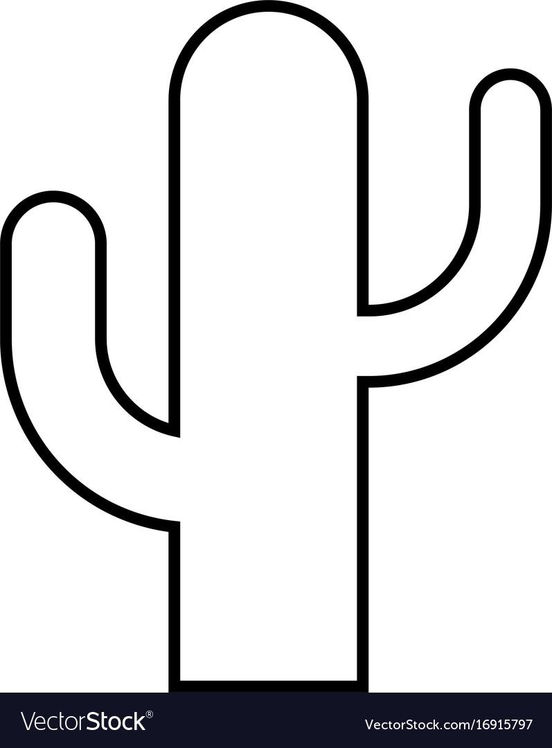 Cactus black. Color icon