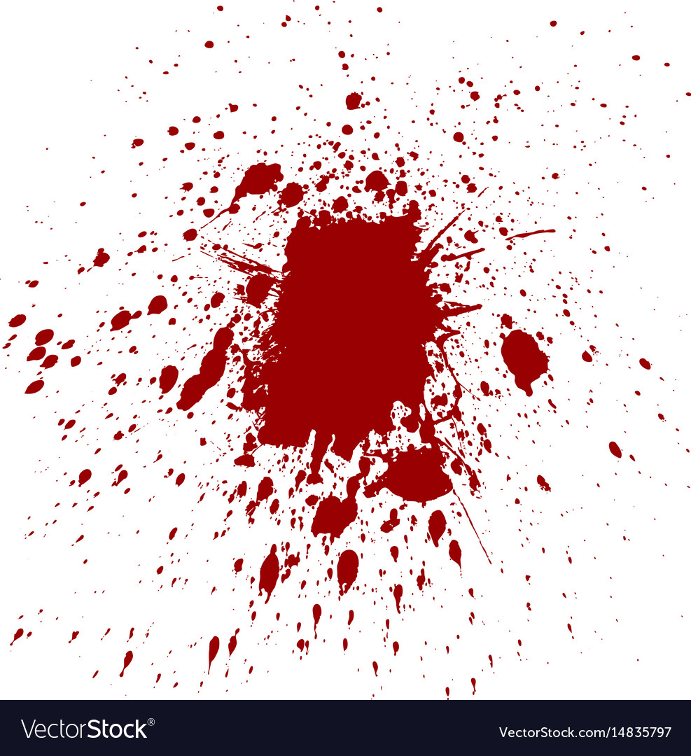 Splatter red color background