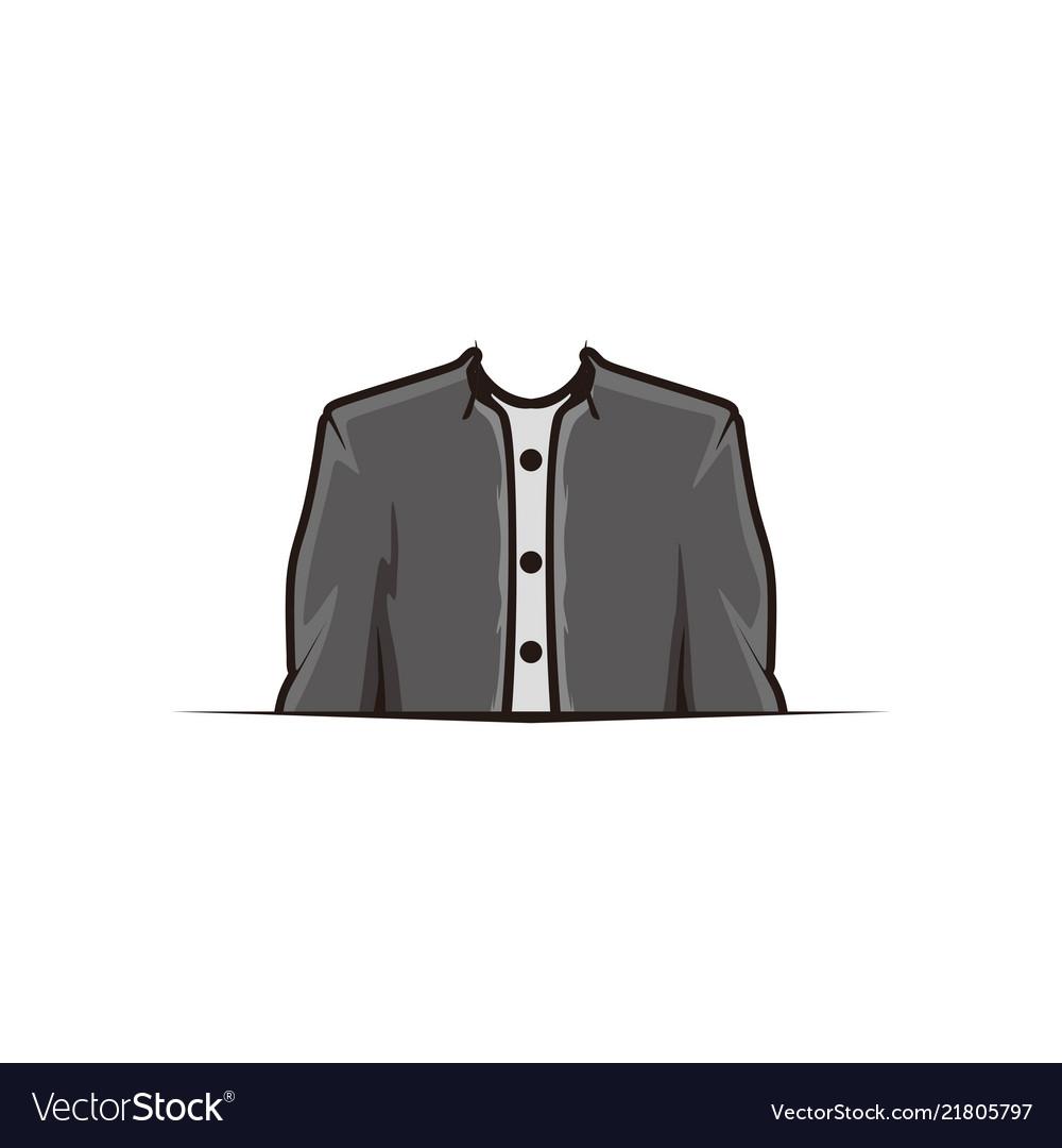 Suit clothing store logo design inspiration