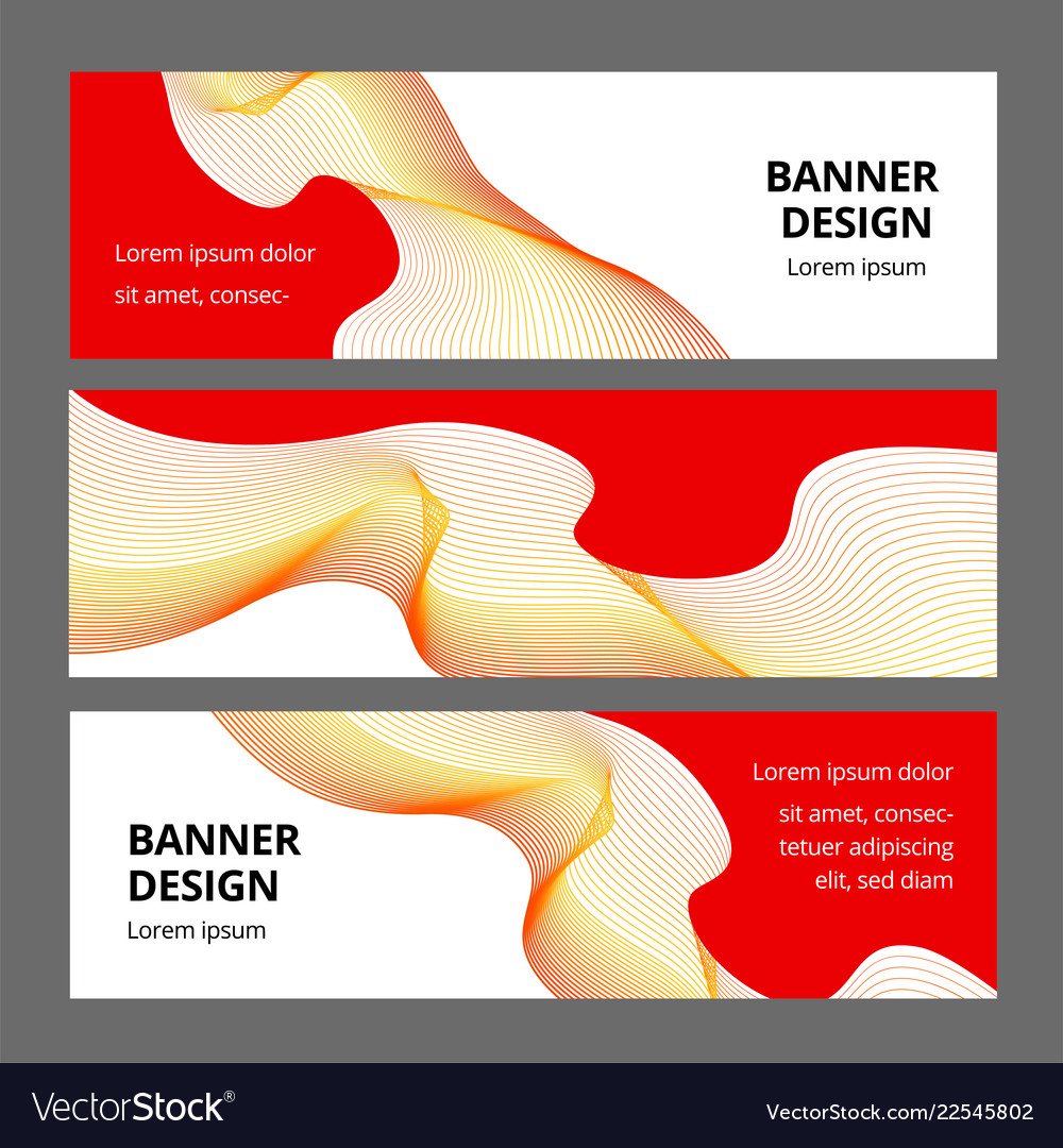Abstract modern banner background design