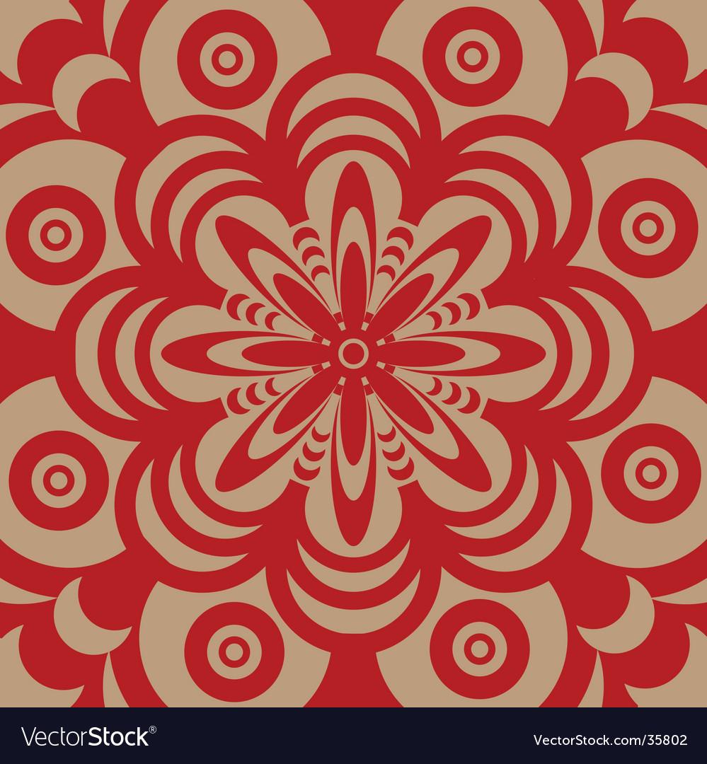 Sixties wallpaper design
