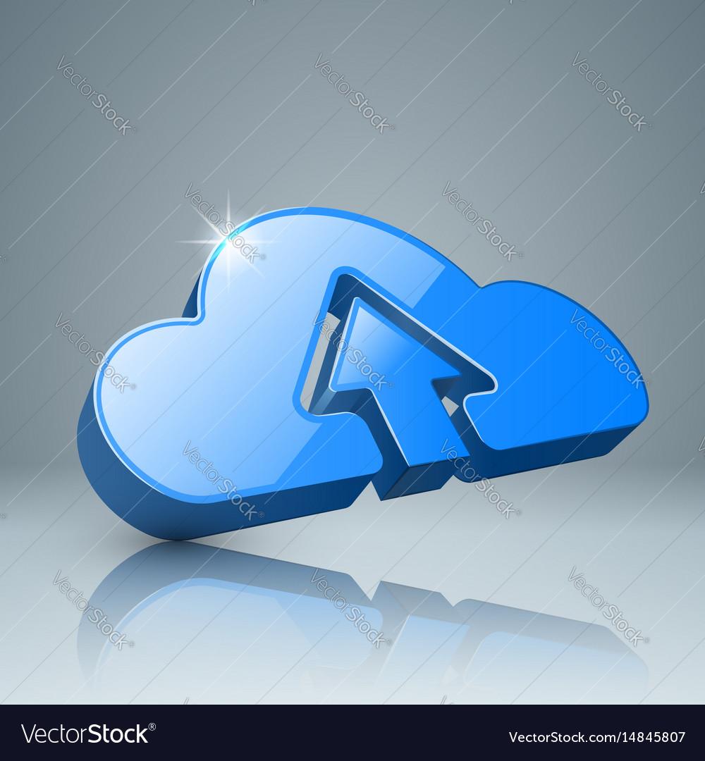Download cloud arrows icon