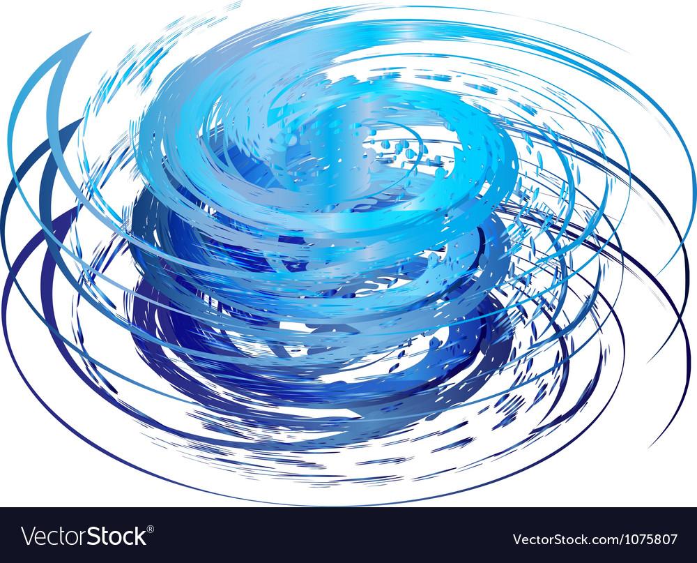 Hurricane icon vector image