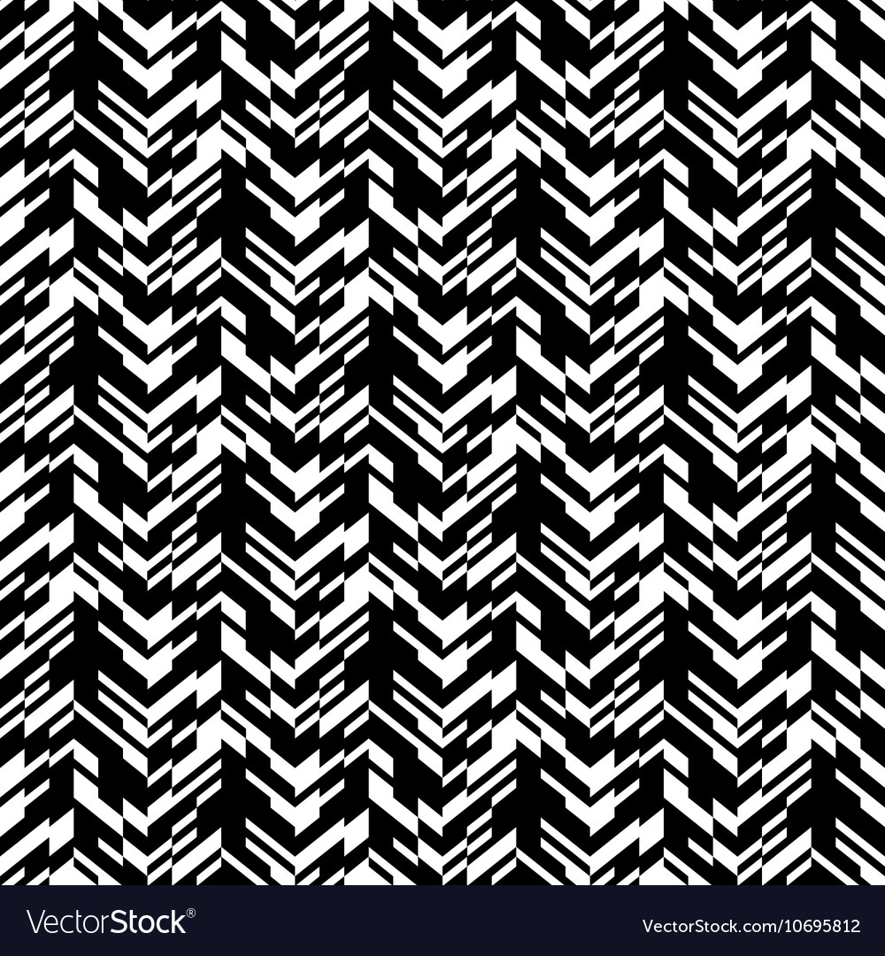 Abstract techno chevron pattern