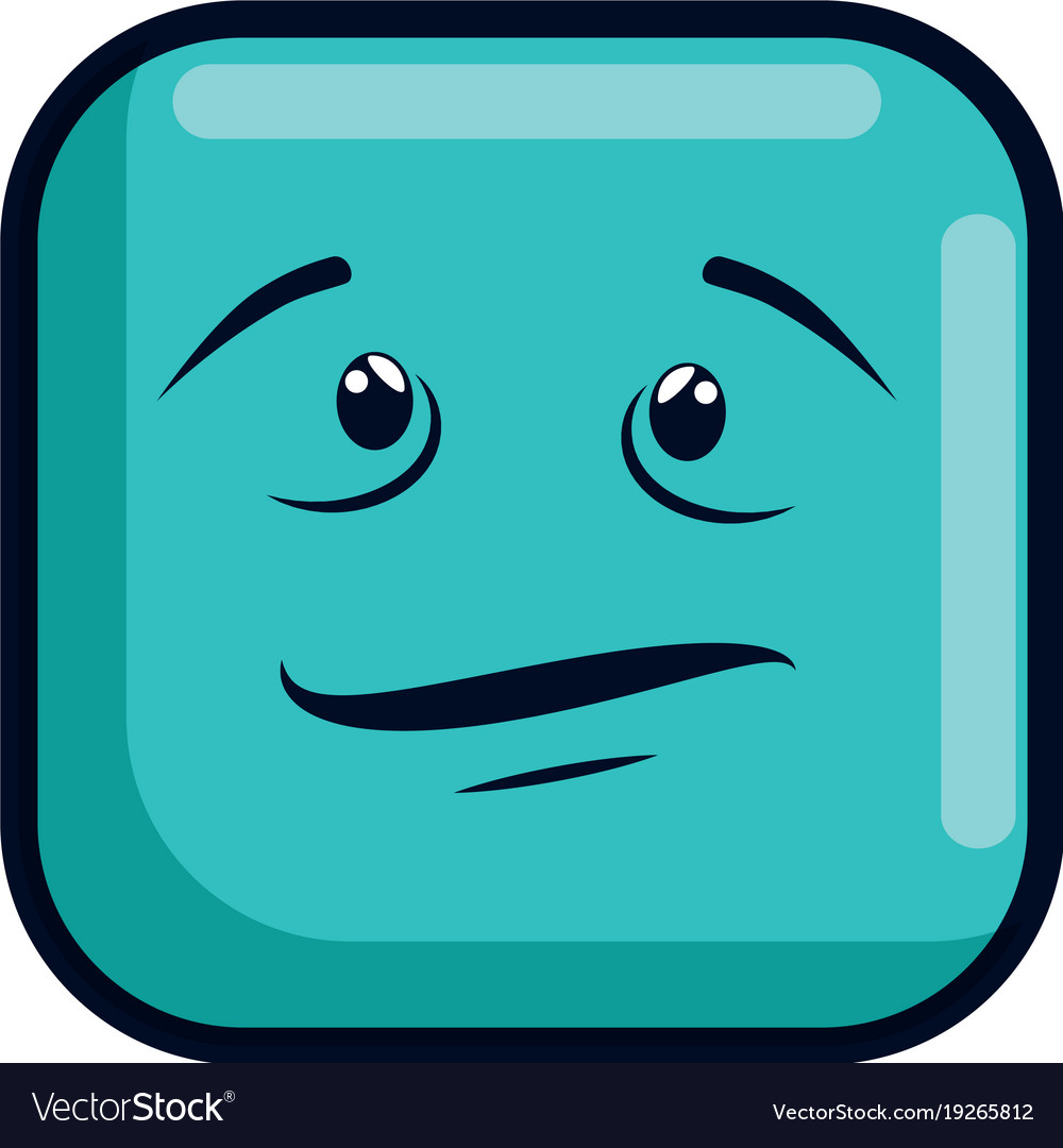 Sick face emoji character Royalty Free Vector Image b85168d1abd