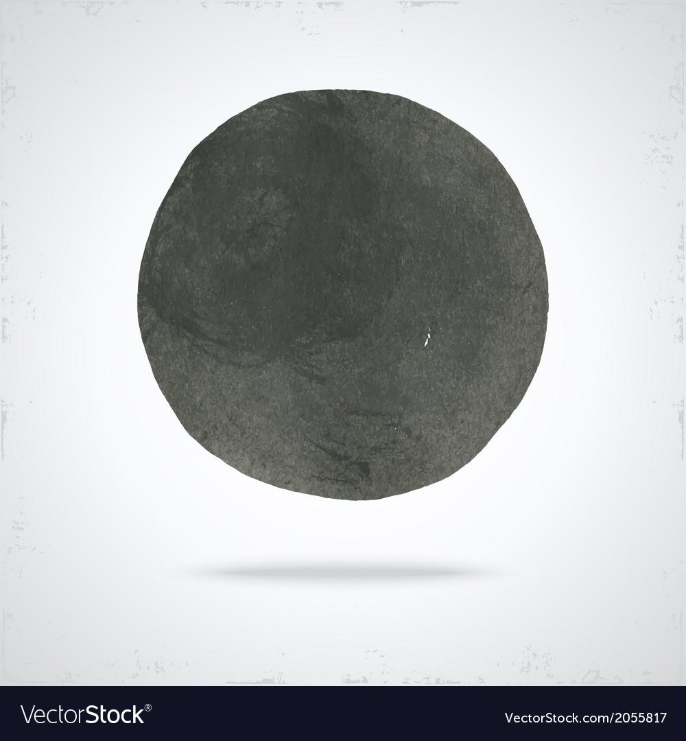 Grunge paint circle