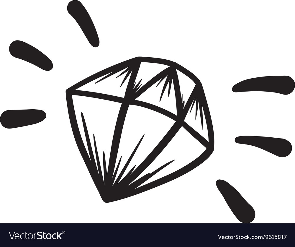 Hand Drawn Diamond