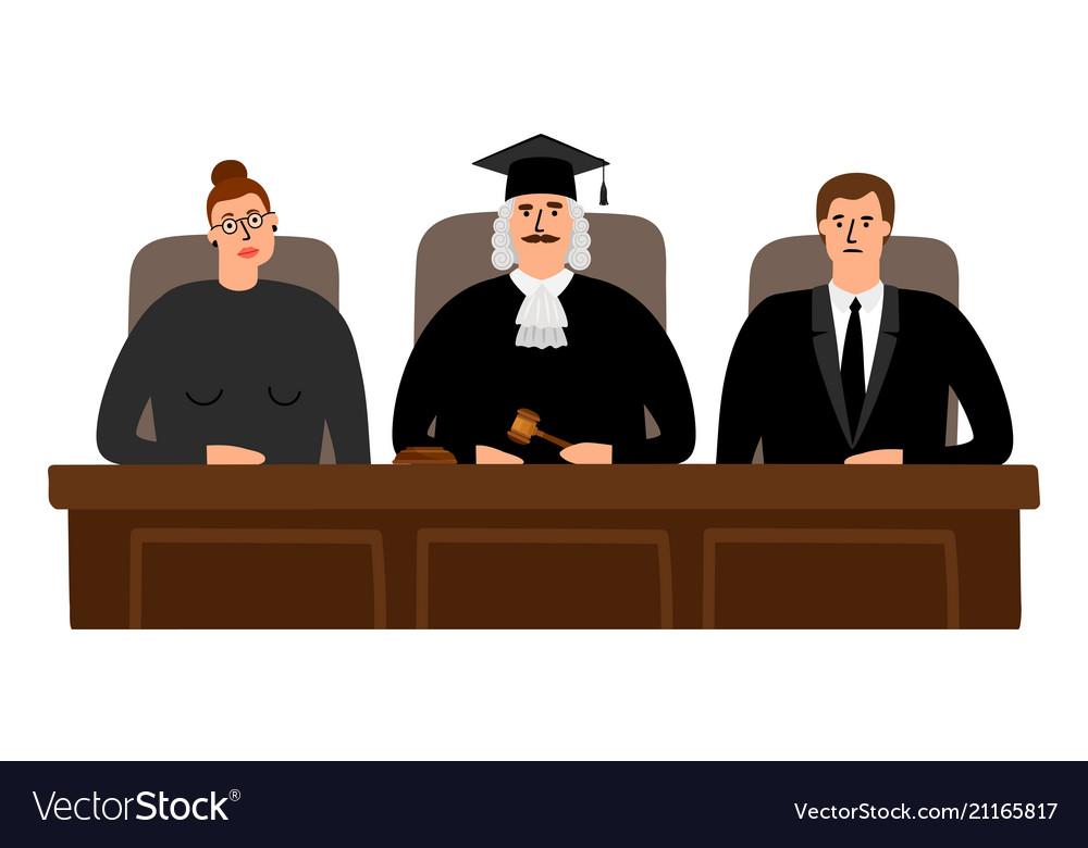 Judges court concept