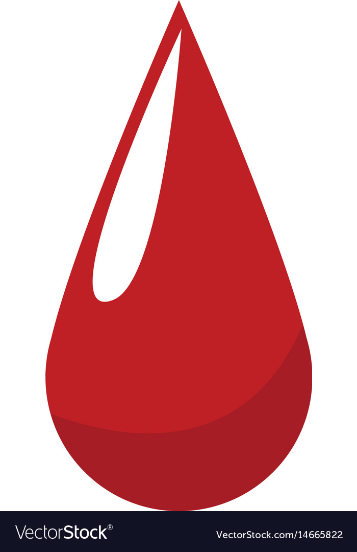 Blood drop donation campaing health life