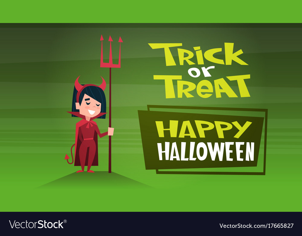 Happy halloween banner holiday decoration horror