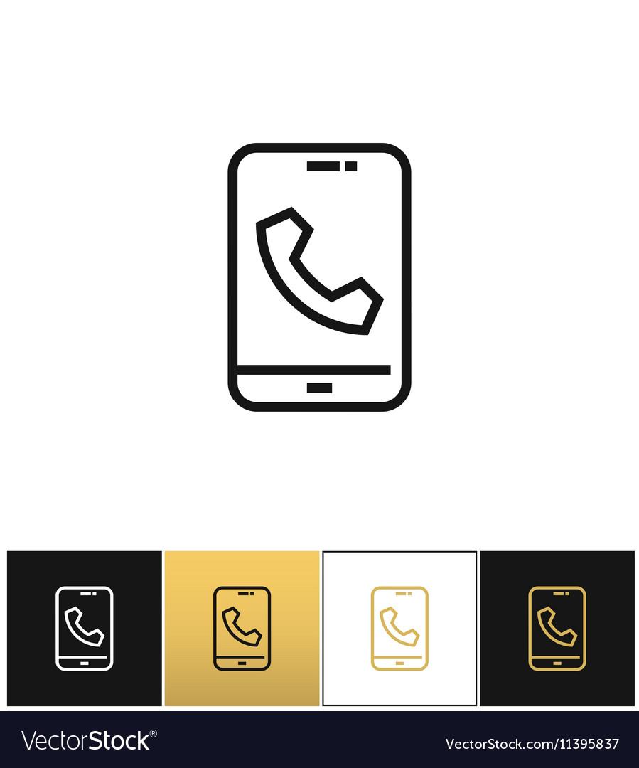 Phone call glyphs or telephone ringtone