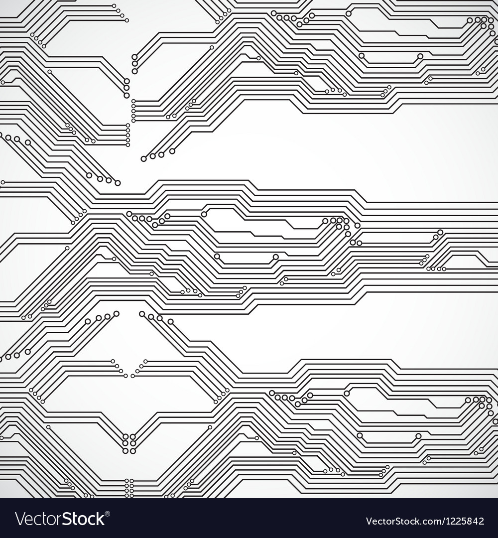 Circuit Board Background Royalty Free Vector Image Abstact With And Binary Code Stock Images