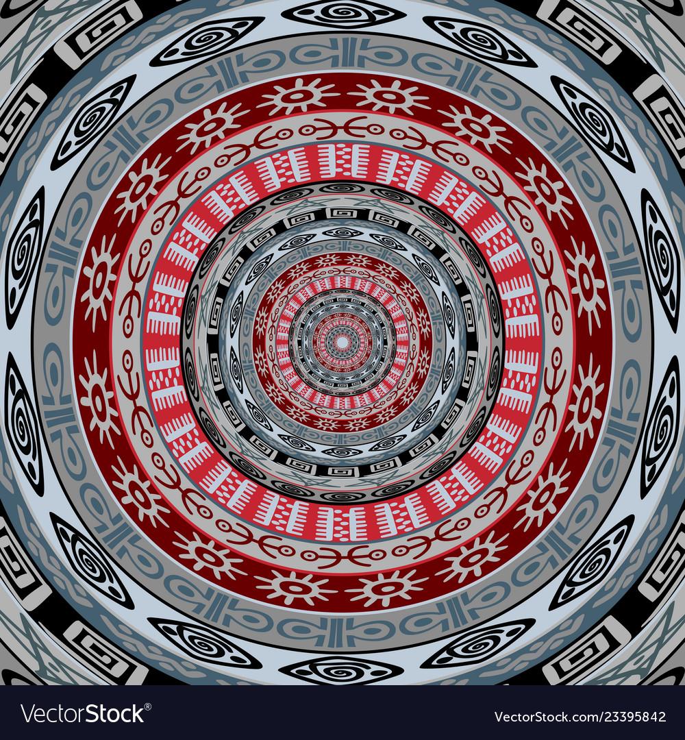 Tribal ethnic symbols background