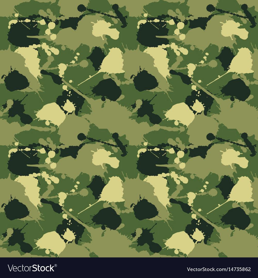 Seamless background of a camouflage