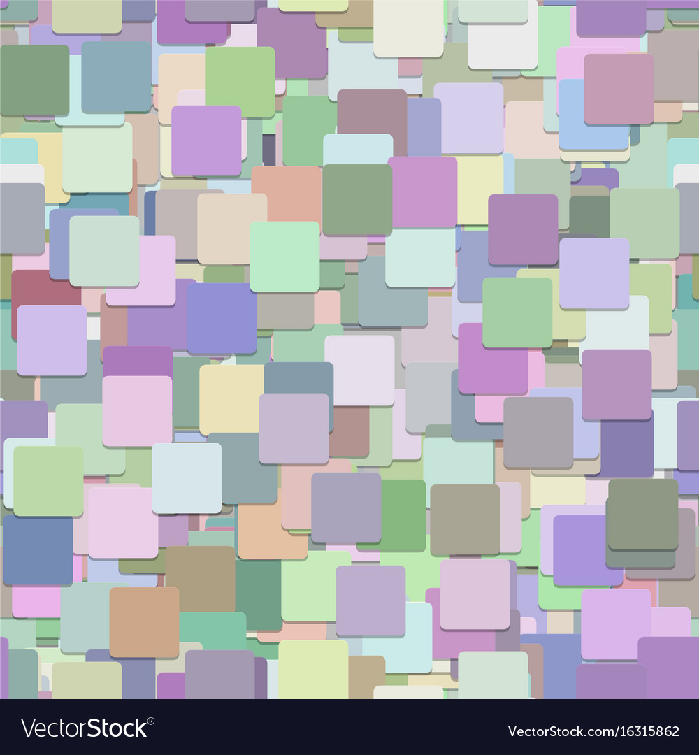 Seamless chaotic square background pattern - from vector image