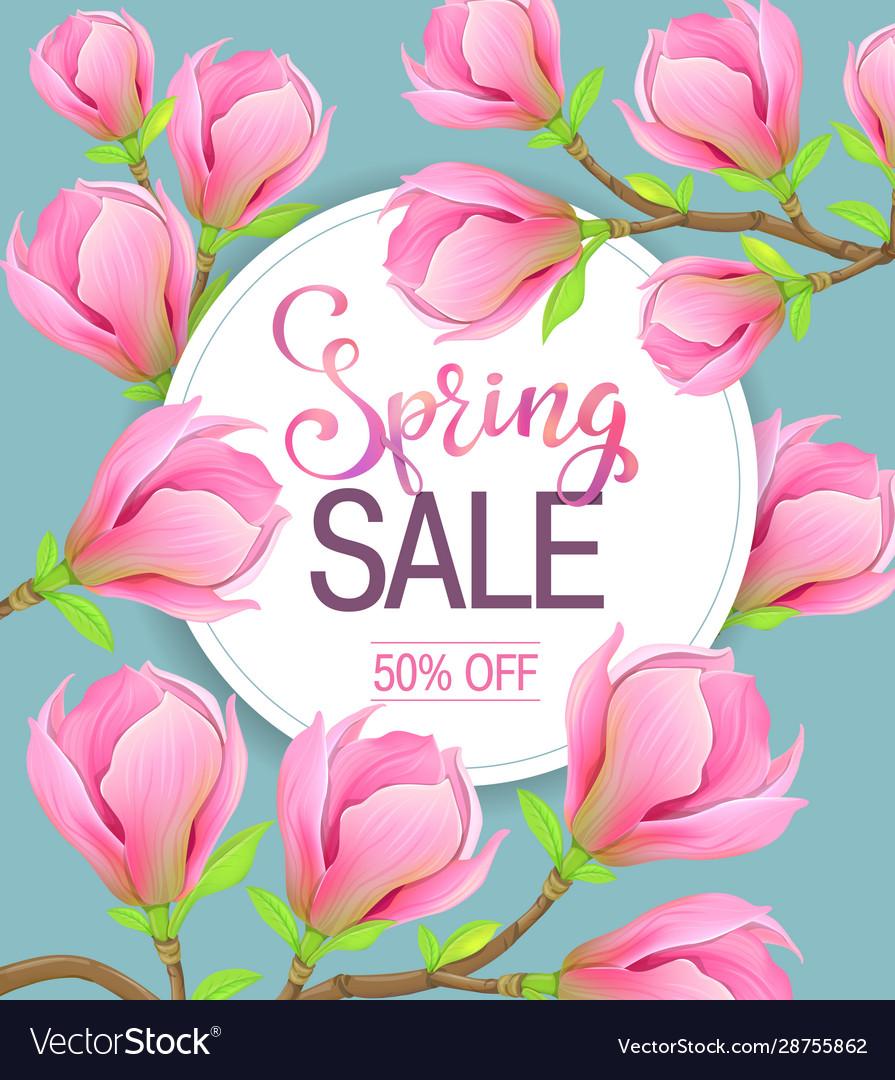 Spring sale magnolia flowers