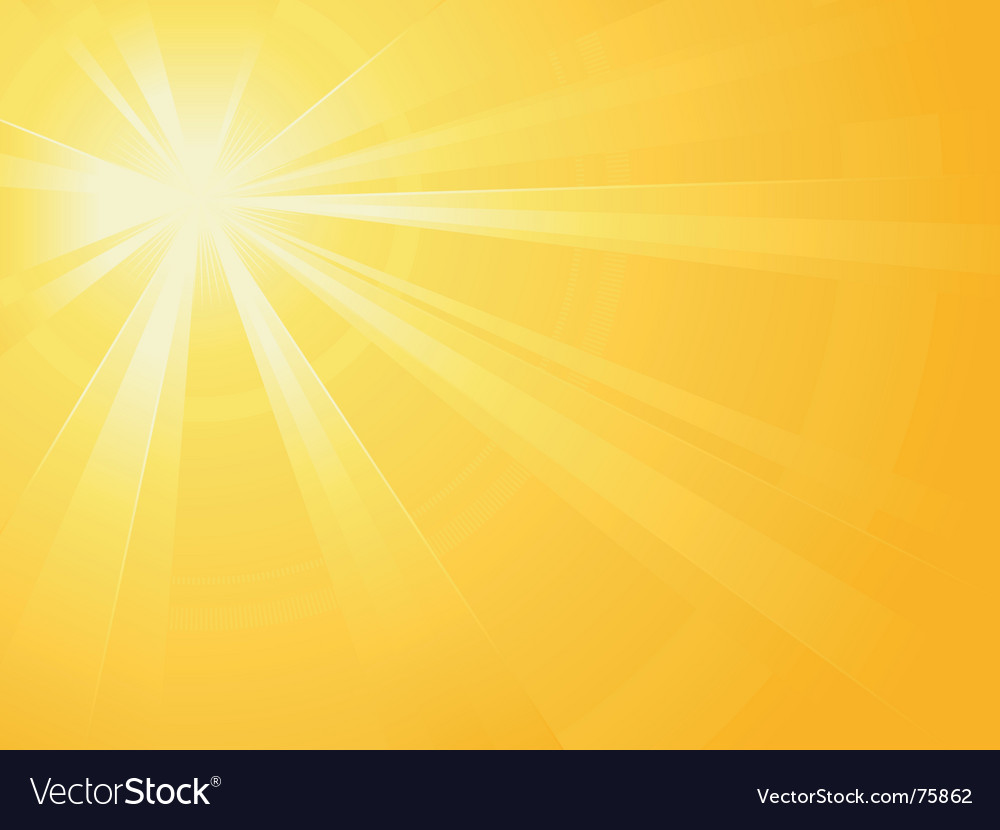 Sun light burst