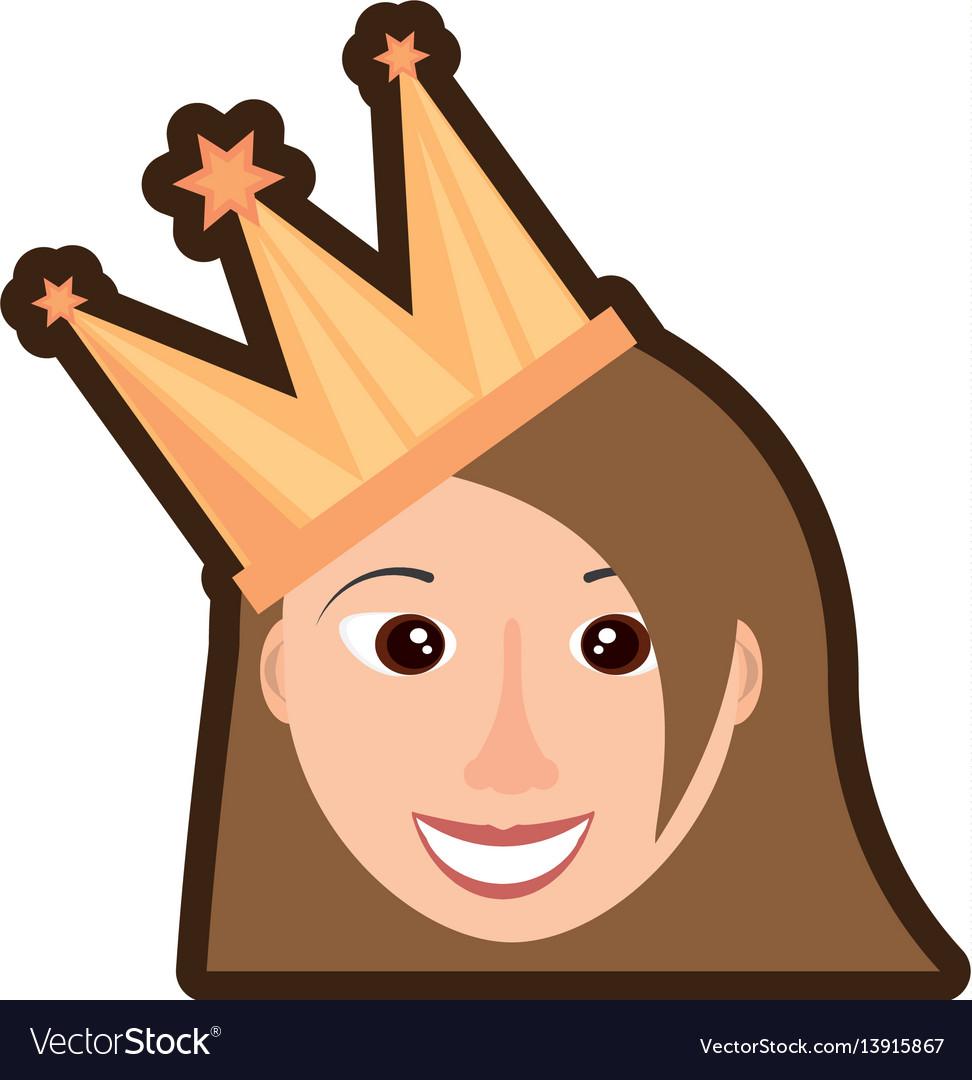 Head girl crown celebration