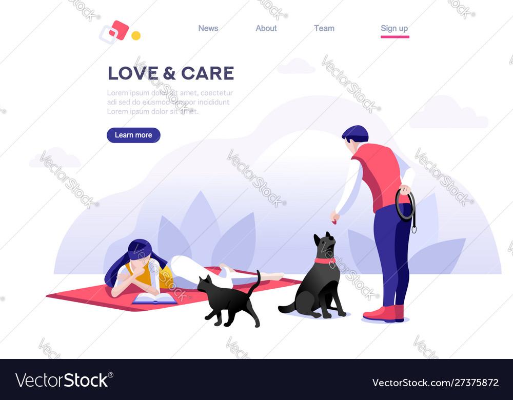 Domestic concept pet care