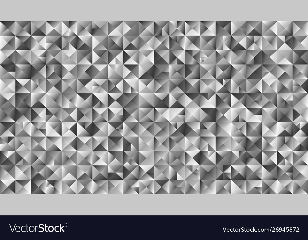 Polygonal gray gradient abstract triangle website