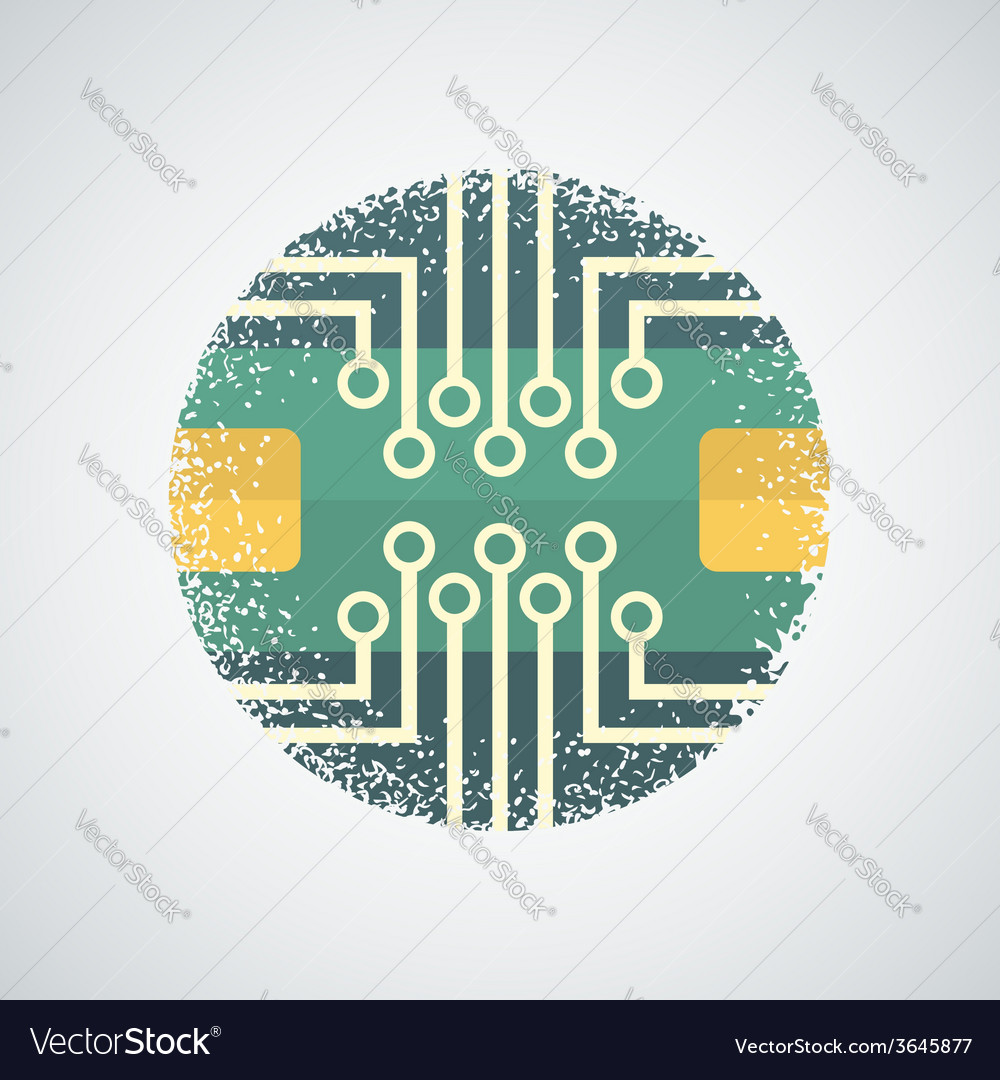Pics Photos Vector Of Circuit Board Vector Background With Funny