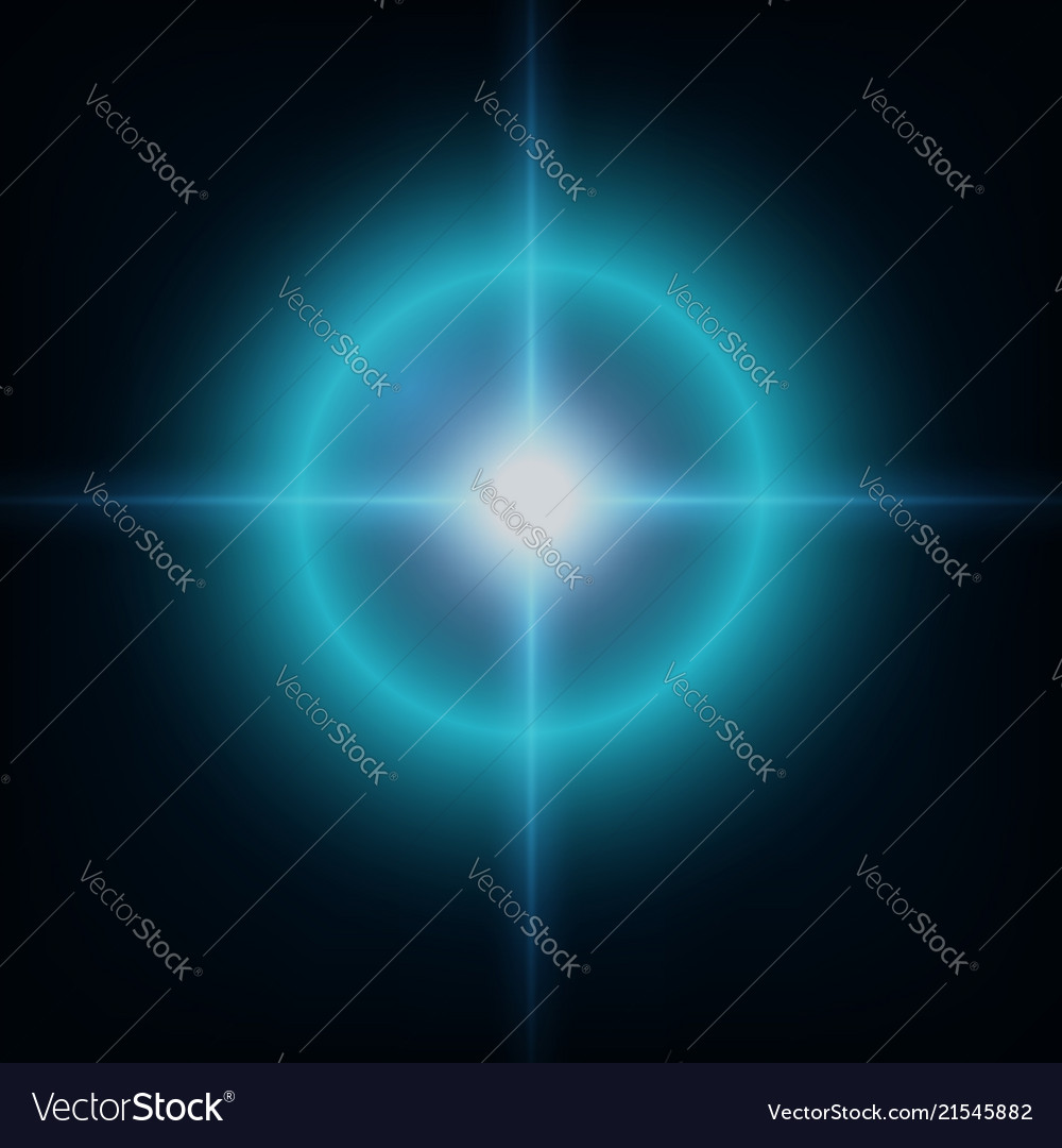 Creative concept set of glow light effect stars