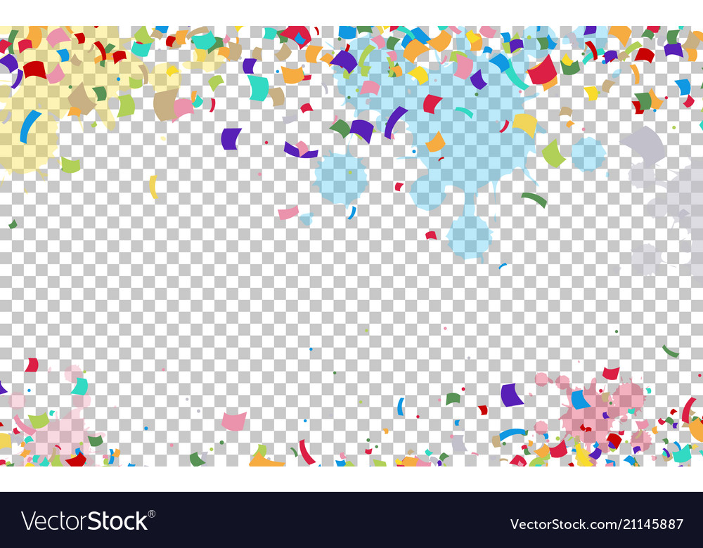 Bright colorful background with ribbons